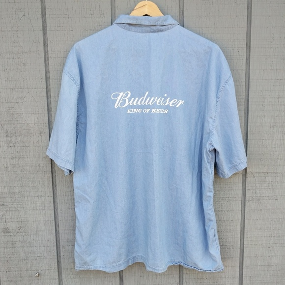 aa5b3233 Budweiser Shirts | X Beentrill King Of Beers Shirt L | Poshmark